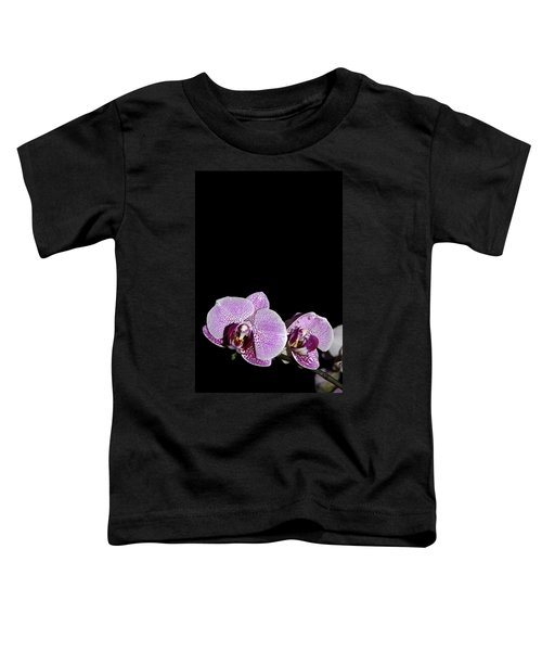 Orchid Blooms Toddler T-Shirt