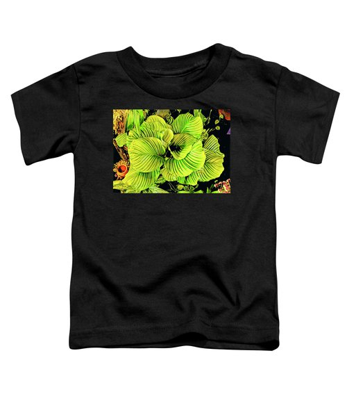 Orchid Green Fade Aloha  Toddler T-Shirt