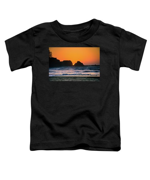 Oregon Sunset Toddler T-Shirt
