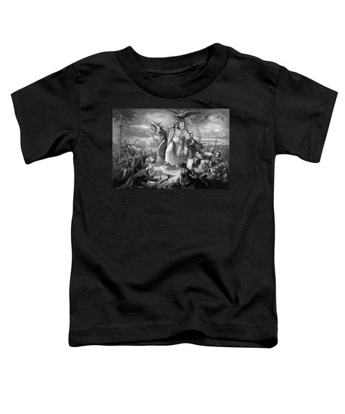 Outbreak Of Rebellion In The United States 1861 Toddler T-Shirt