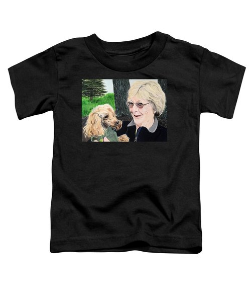 Outing With Peaches Toddler T-Shirt