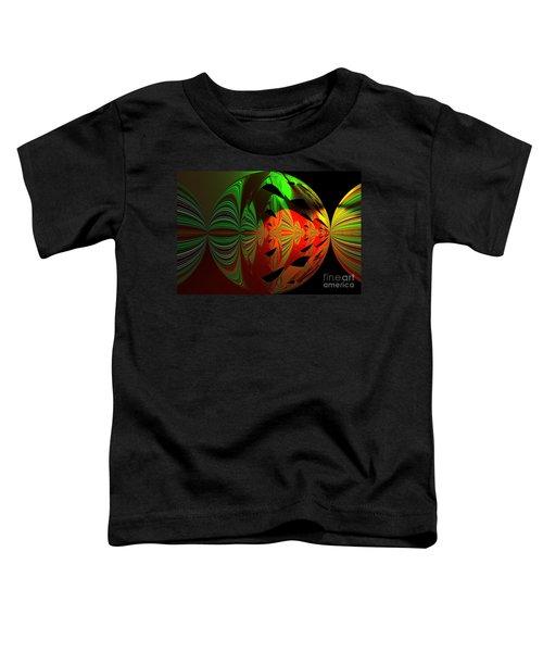 Art Green, Red, Black Toddler T-Shirt