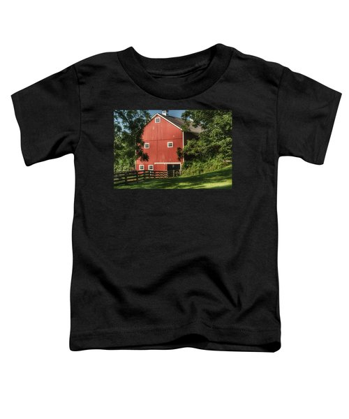 0035 - Oxford's Big Red I Toddler T-Shirt