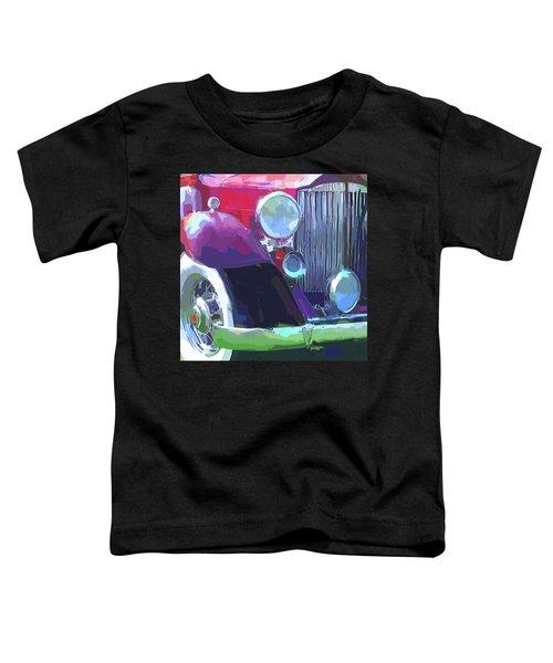 Packard Close Up Pop Toddler T-Shirt