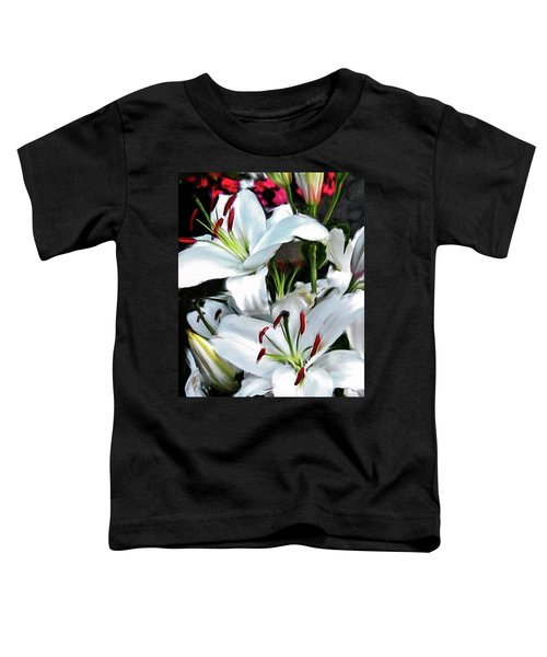 Painted Lilies Toddler T-Shirt