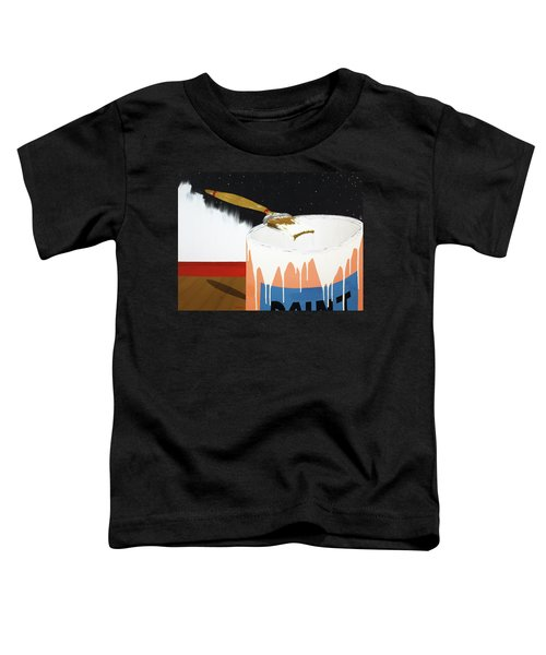 Painting Out The Sky Toddler T-Shirt