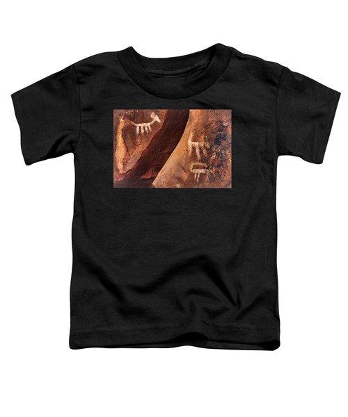 Palatki Pictographs9 Pnt Toddler T-Shirt