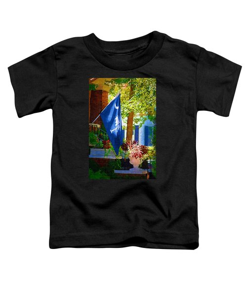 Palmetto Flag Toddler T-Shirt