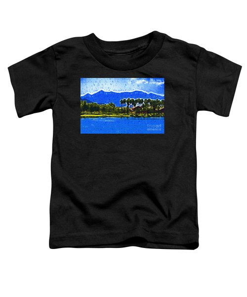 Palms And Mountains Toddler T-Shirt