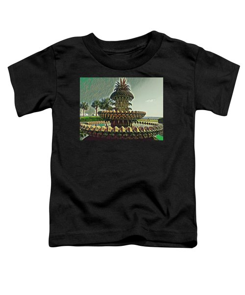 Palms And Pineapples Toddler T-Shirt