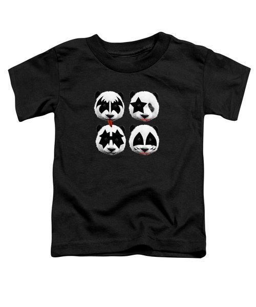 Panda Kiss  Toddler T-Shirt