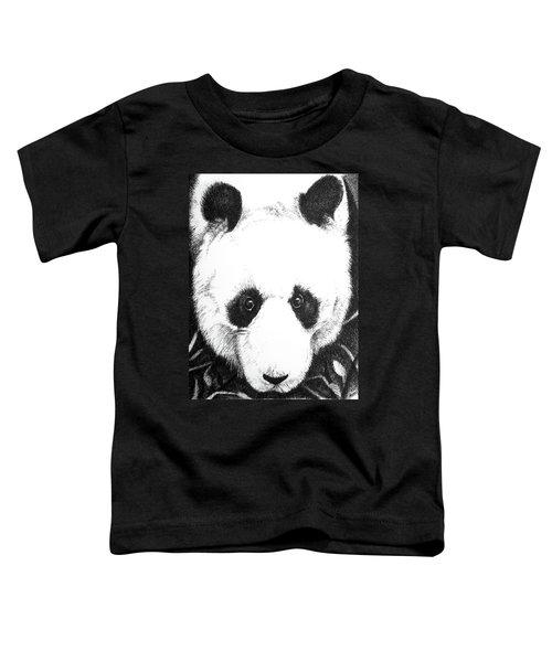 Panda Portrait Toddler T-Shirt