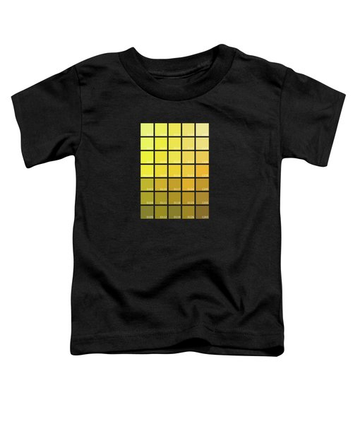 Pantone Shades Of Yellow Toddler T-Shirt