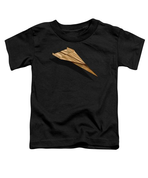 Paper Airplanes Of Wood 3 Toddler T-Shirt