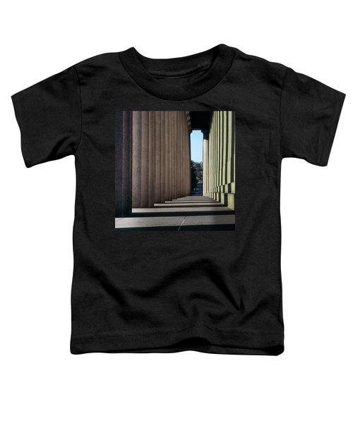 Parthenon Shadow Tunnel Toddler T-Shirt