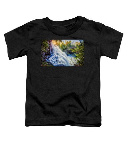Partridge Falls In Late Afternoon Toddler T-Shirt