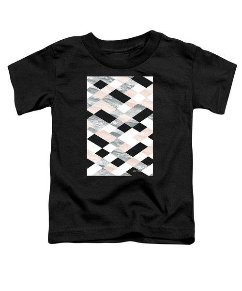 Pastel Scheme Geometry Toddler T-Shirt