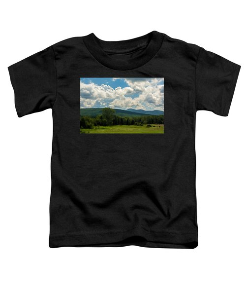 Pastoral Landscape With Mountains Toddler T-Shirt