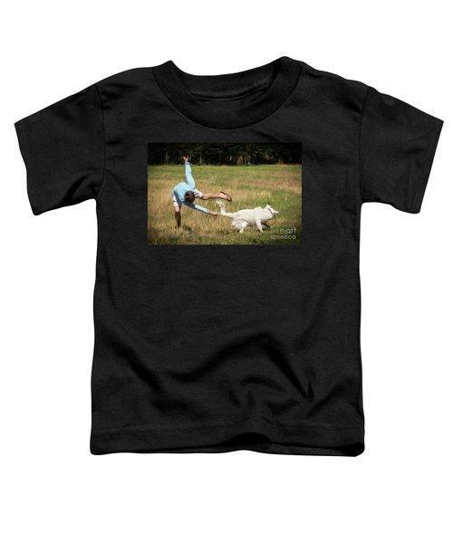 Pasture Ballet Human Interest Art By Kaylyn Franks   Toddler T-Shirt