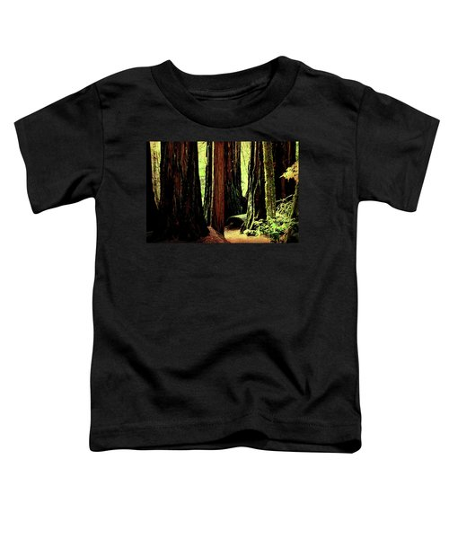 Path Through The Forest Edge . 7d5432 Toddler T-Shirt