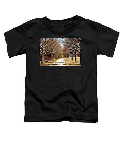 Pathway Through Trees Toddler T-Shirt