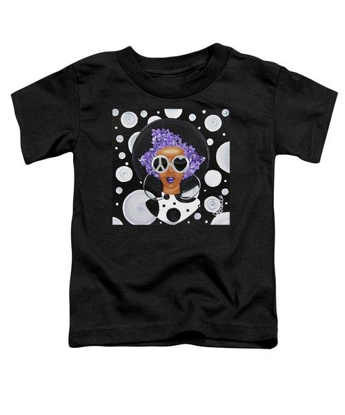 Peace, Love, Polka Dots Toddler T-Shirt