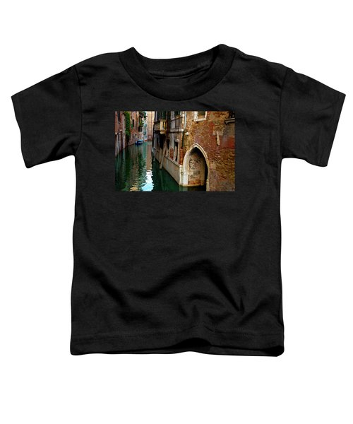 Peaceful Canal Toddler T-Shirt