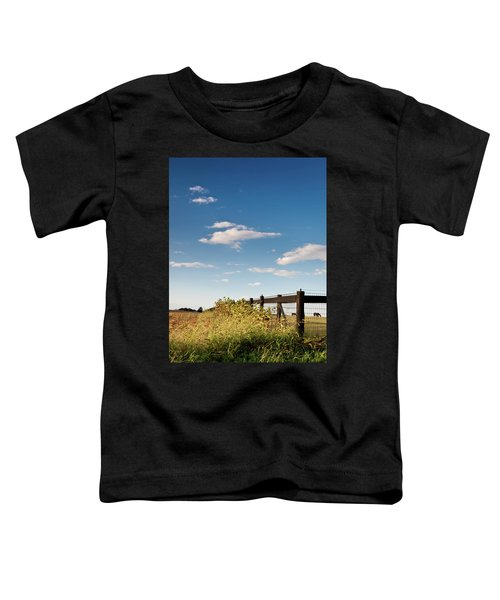 Peaceful Grazing Toddler T-Shirt