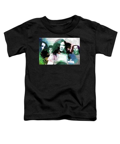 Pearl Jam Portrait  Toddler T-Shirt by Enki Art
