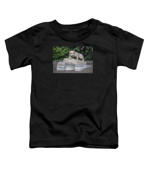 Penn Statue Statue  Toddler T-Shirt by John McGraw