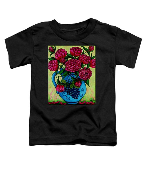 Peony Party Toddler T-Shirt
