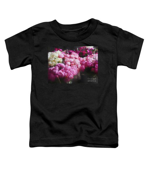Peony Season Toddler T-Shirt