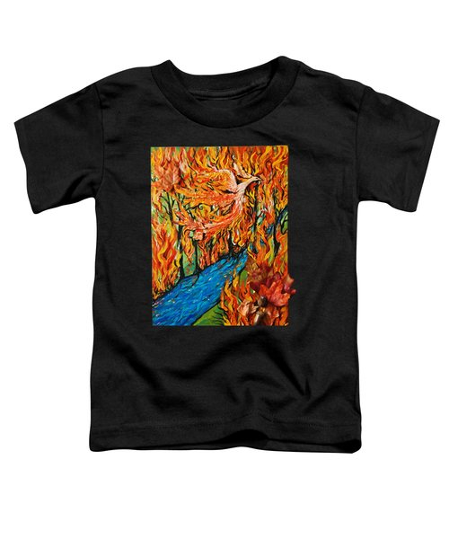 Phoenix Forest Fire Toddler T-Shirt