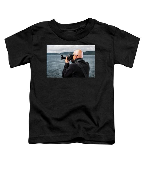 Photographer At Work Toddler T-Shirt