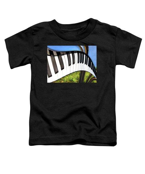 Piano Land Toddler T-Shirt