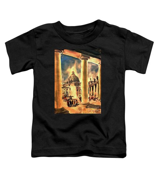 Piazza San Pietro In Roma Italy Toddler T-Shirt