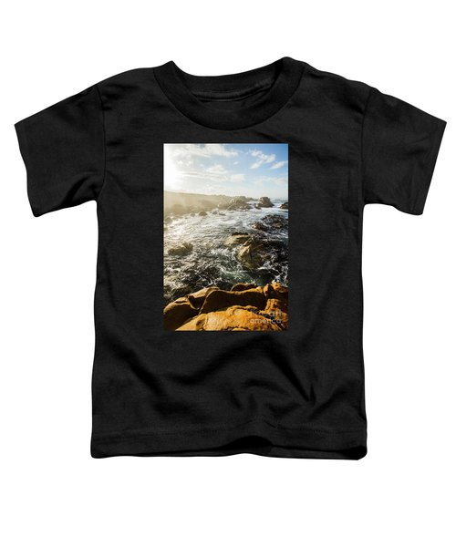 Picturesque Australian Beach Landscape Toddler T-Shirt