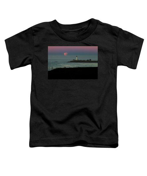 Pigeon Point Supermoonset Toddler T-Shirt