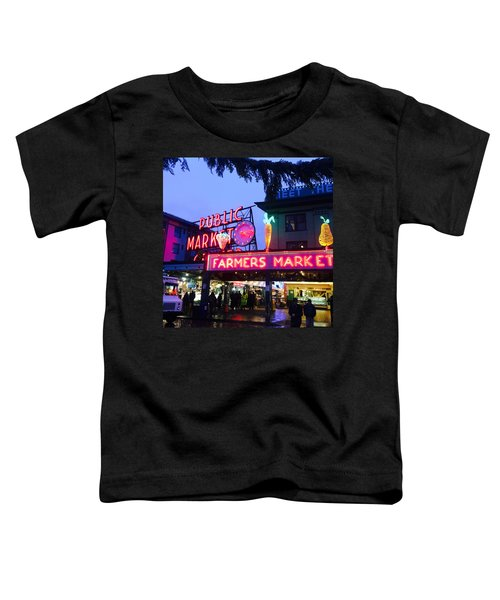 Pike Place Market Toddler T-Shirt