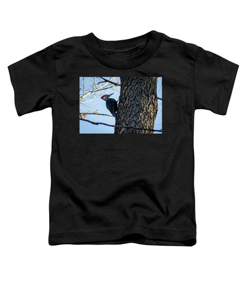 Pileated Woodpecker  Toddler T-Shirt
