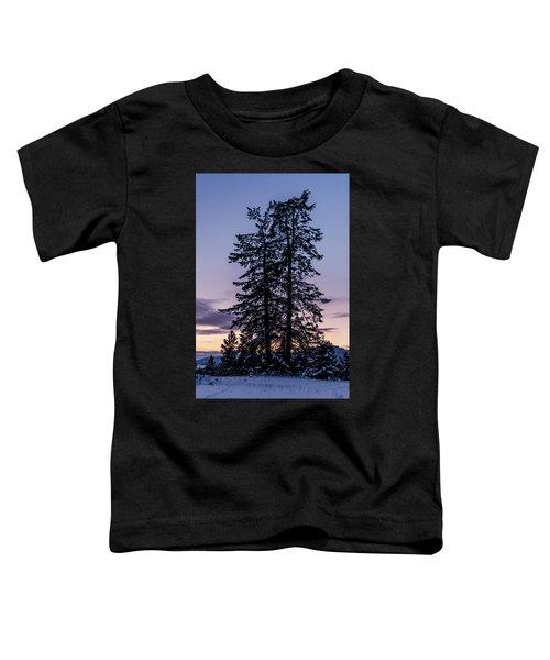 Pine Tree Silhouette    Toddler T-Shirt