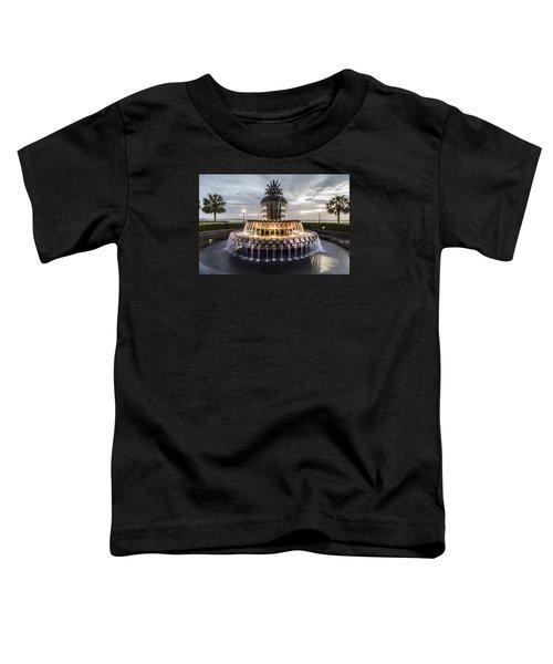 Pineapple Fountain Charleston Sc Toddler T-Shirt