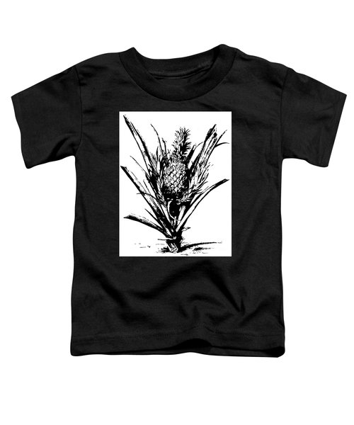 Pineapple Plant With Fruit Toddler T-Shirt