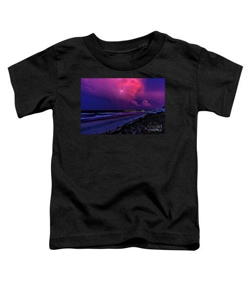 Pink Lightning Toddler T-Shirt
