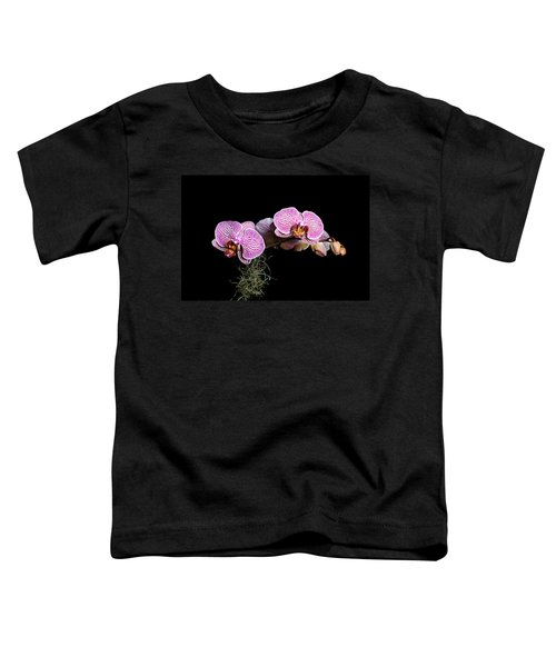 Pink Orchids Toddler T-Shirt