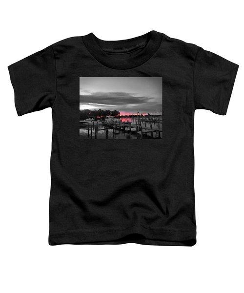 Pink Sunset Toddler T-Shirt