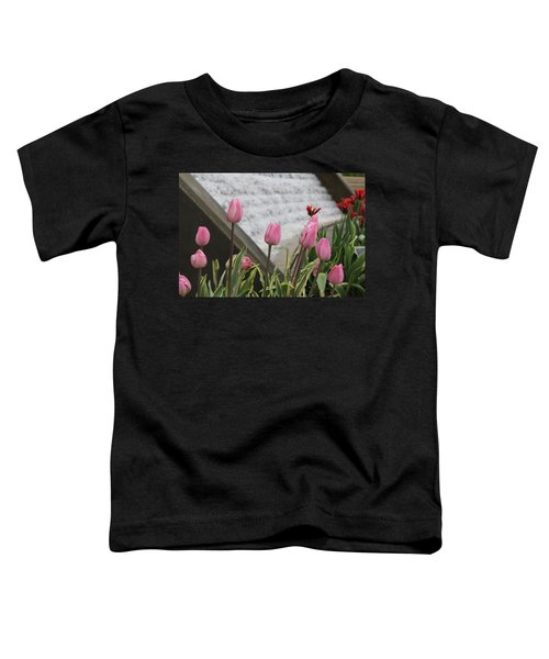 Pink Tulips Toddler T-Shirt