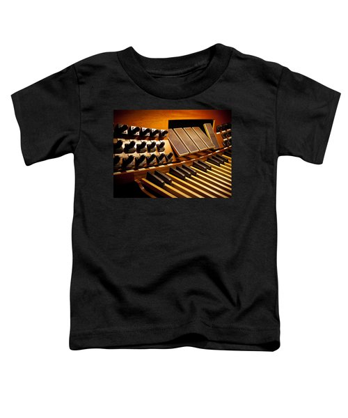 Pipe Organ Pedals Toddler T-Shirt