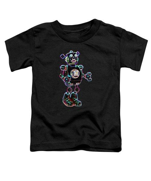 Planet Robot Toddler T-Shirt
