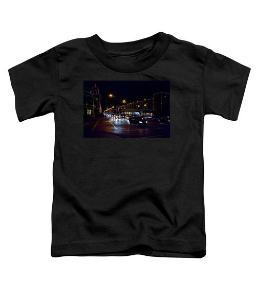 Plaza Lights Toddler T-Shirt